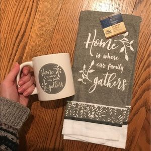 Family Towel & Mug Set